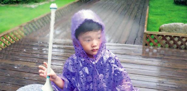 Invisible-Umbrella-Repels-Raindrops